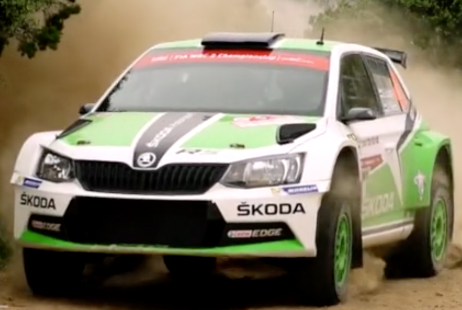 ŠKODA Motorsport – prezentace MČR Barum Czech Rally